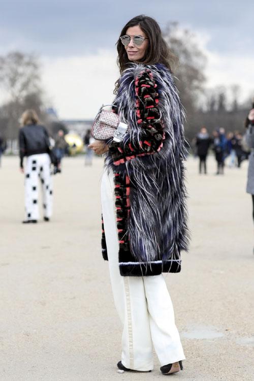 13 modalitati cool de a purta blana colorata