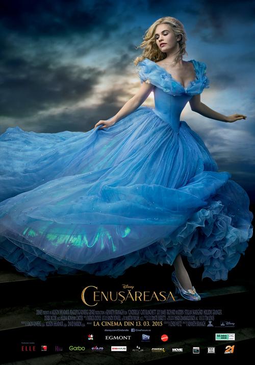 Concurs: Castiga invitatii duble la filmul Cenusareasa!