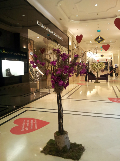 Valentine's Day @ The Grand: Cupidoni, romantism, shopping si relaxare