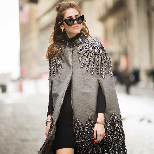 Chiara Ferragni la Saptamanile modei – cele mai cool poze de pe Instagram