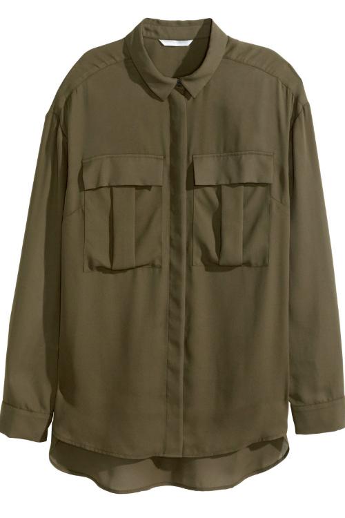 Look military – Cele mai cool & accesibile piese vestimentare ale saptamanii