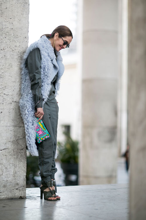 Paris Fashion Week: Best streetstyle looks