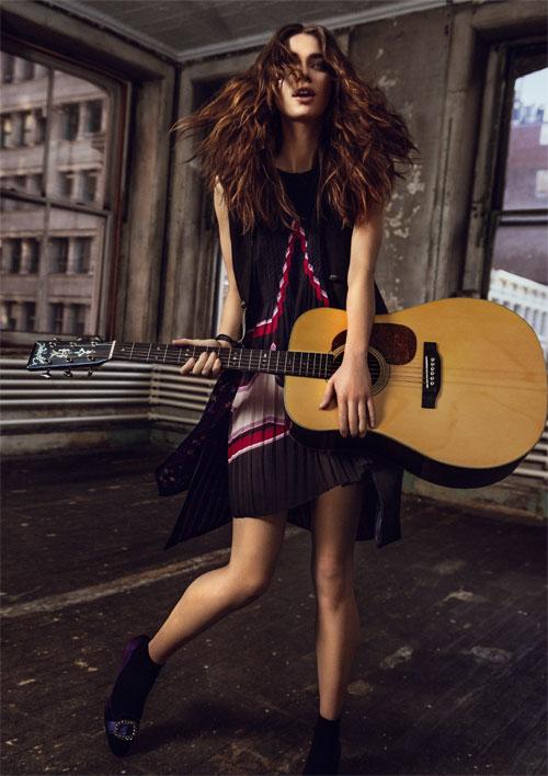 ELLE FASHION: In spirit Rock'n'roll
