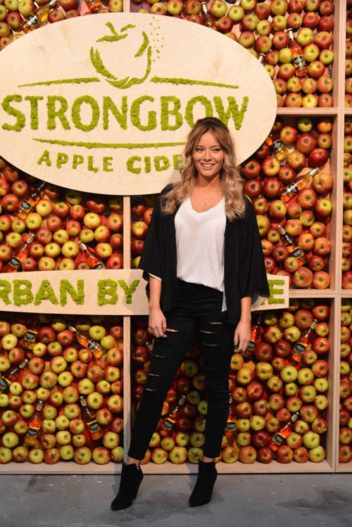 Vedete la lansarea Strongbow, marca de cidru numarul 1 in lume