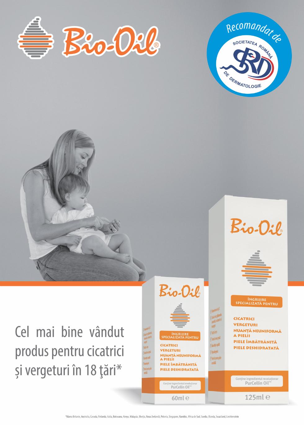 (P) Bio-Oil, arma ta secreta in lupta cu cicatricile si vergeturile