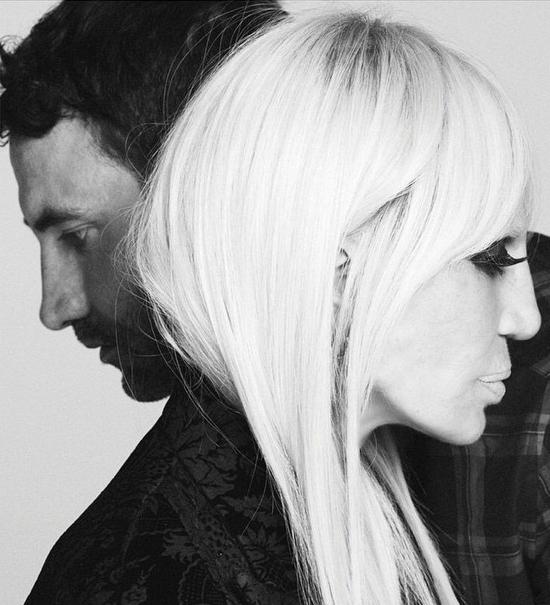 Donatella Versace este noua imagine Givenchy!