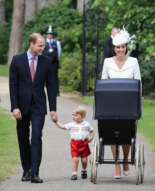 Printesa Charlotte a Marii Britanii a fost botezata