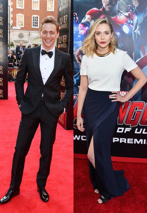 Tom Hiddleston si Elizabeth Olsen – noul cuplu de la Hollywood