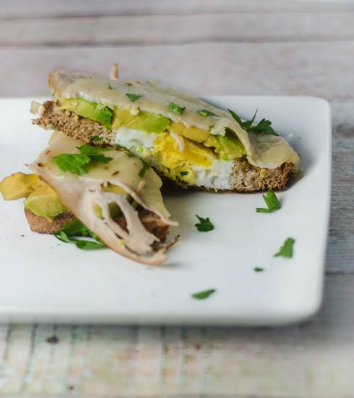 Sandwich cu legume
