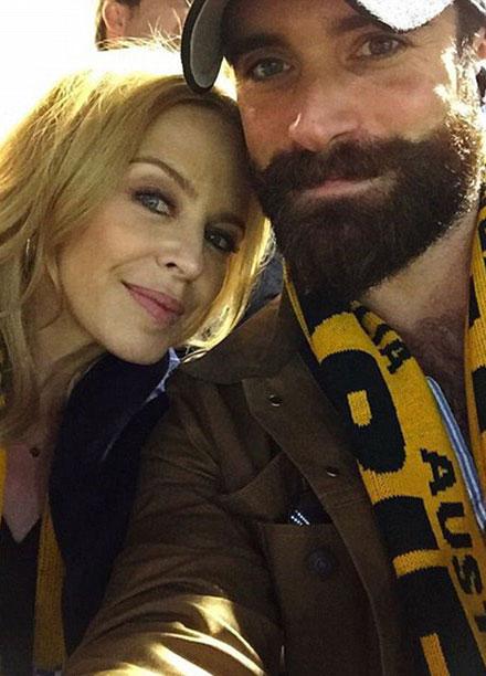 Kylie Minogue, primele declaratii despre noul iubit