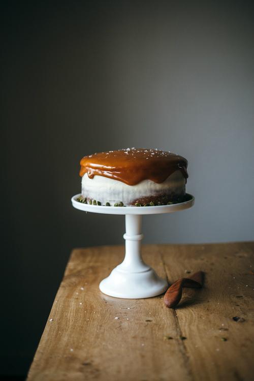 Tort cu seminte de dovleac si crema de branza