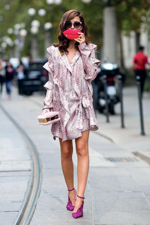 Cum sa porti rochia anii '80