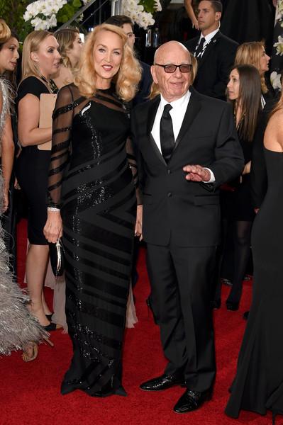 Rupert Murdoch si Jerry Hall s-au logodit
