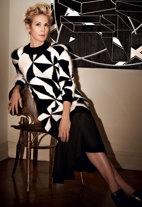 ELLE EXCLUSIV: Kelly Rutherford – New York City girl