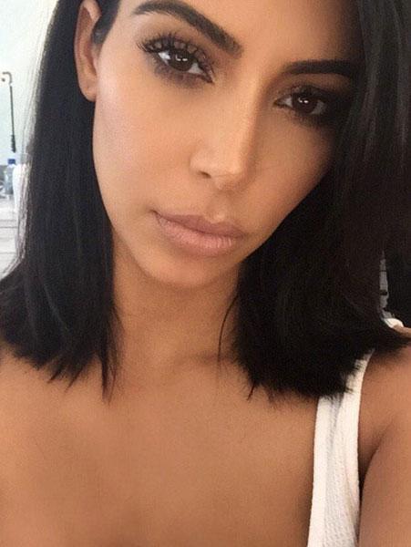Kim Kardashian dezvaluie secretul parului sau stralucitor