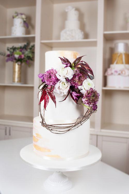 (P) Modern Romance, colectia de torturi de nunta Grace Couture Cakes
