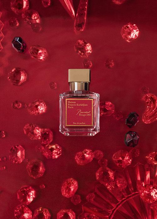 (P) Baccarat Rouge 540, un parfum de colectie