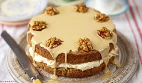 Cel mai bun tort de nuci si cafea, dupa reteta lui Jamie Oliver