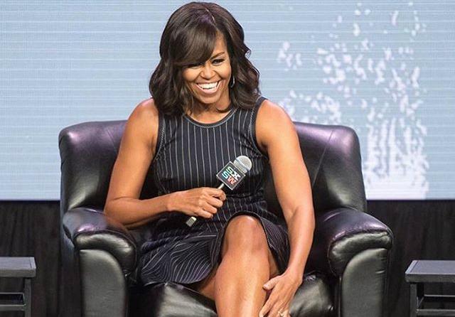 Michelle Obama vorbeste despre educarea femeilor pe Elle.com