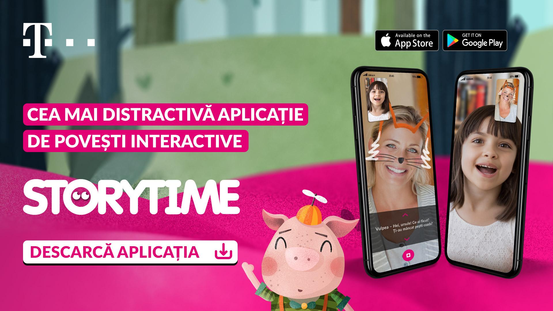 Storytime – O aplicație 100% made in RO vrea să ajute relația părinți-copii, chiar și la mii de kilometri distanță