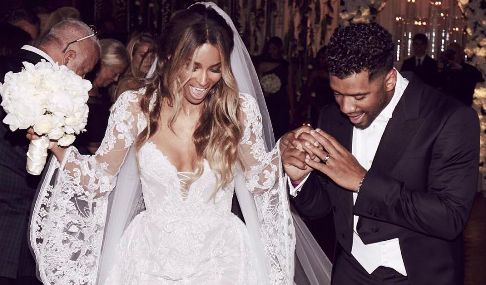 Cantareata Ciara s-a casatorit