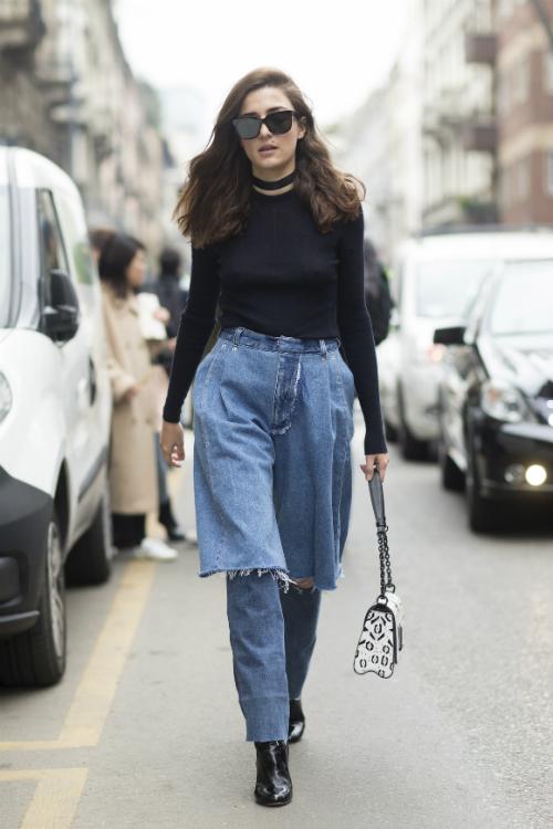 20 de idei stylish despre cum se mai poarta jeansii