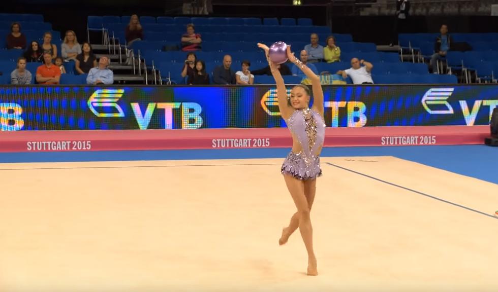 Ana Luiza Filiorianu va concura astazi la Rio, la individual compus, gimnastica ritmica