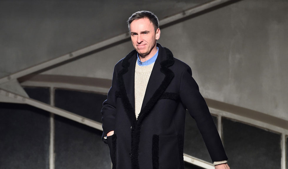Raf Simons, noul director de creatie al brandului Calvin Klein
