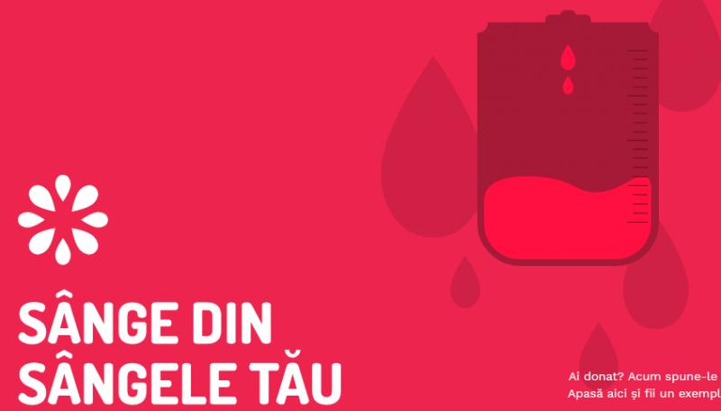 Sânge din sângele tău – cea mai amplă campanie de donare de sânge organizată la nivel național
