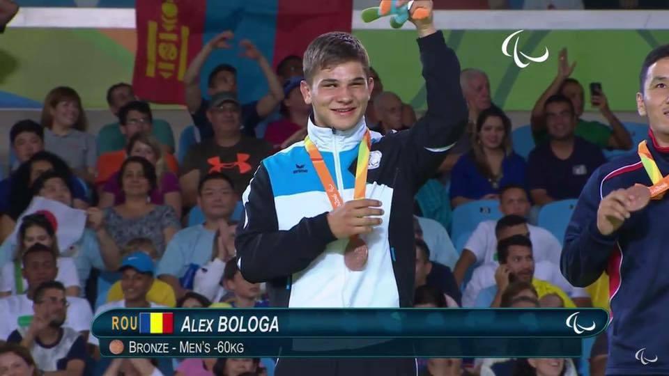 Prima medalie pentru Romania la Jocurile Paralimpice