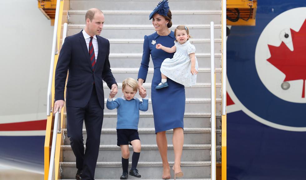 Familia regala britanica in vizita oficiala in Canada