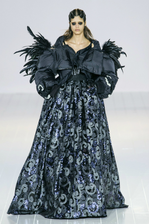 Domnica Margescu - tinuta Marc Jacobs FW 2016-2017