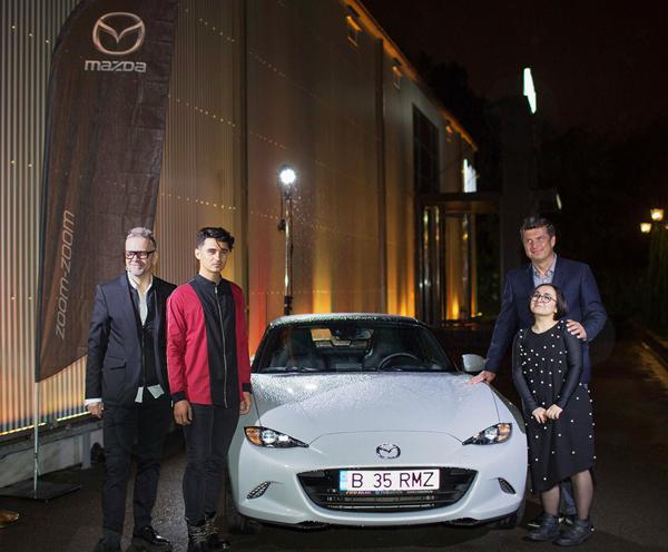 Tibor-Egyud,-managing-director-Mazda-Motor-Ungaria,-Kevin-Rice,-design-director,-Mazda-Designer-Europa,-Alexandra-Simion,-Ioan-Cercea