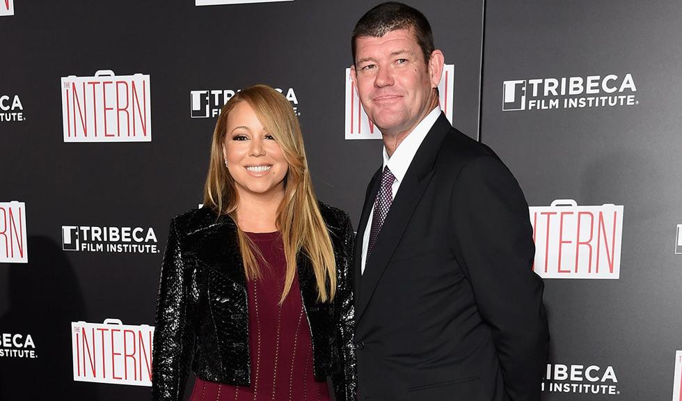 Mariah Carey si-a ars rochia de mireasa pregatita pentru nunta cu James Packer