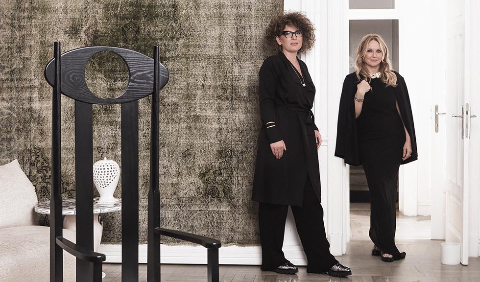 (P) Camelia Șucu și Genoveva Hossu au lansat simultan cinci showroomuri destinate designului de interior