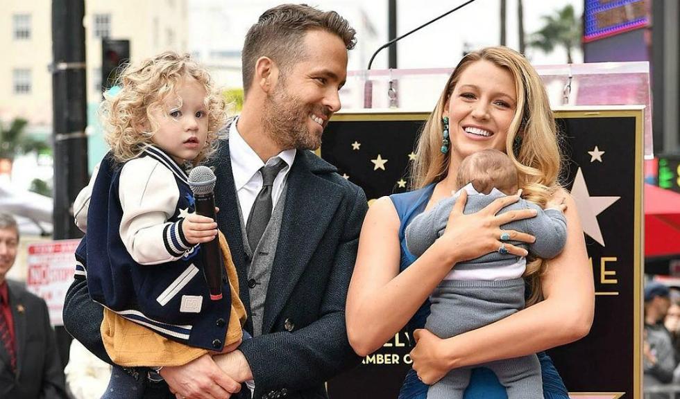 Prima aparitie publica a copiilor lui Blake Lively si Ryan Reynolds