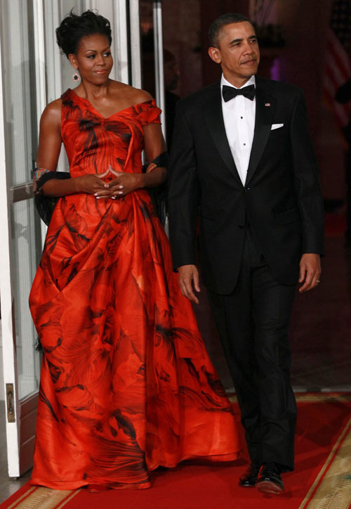 Top 20 cele mai stylish tinute purtate de Michelle Obama