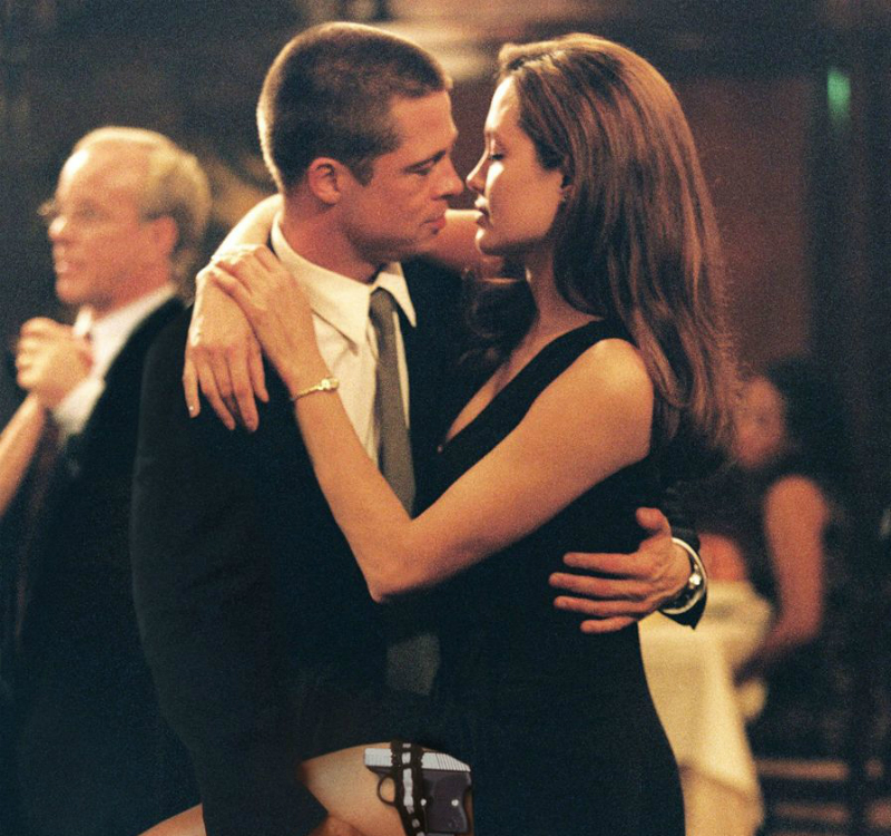 Angelina Jolie and Brad Pitt - Mr & Mrs Smith