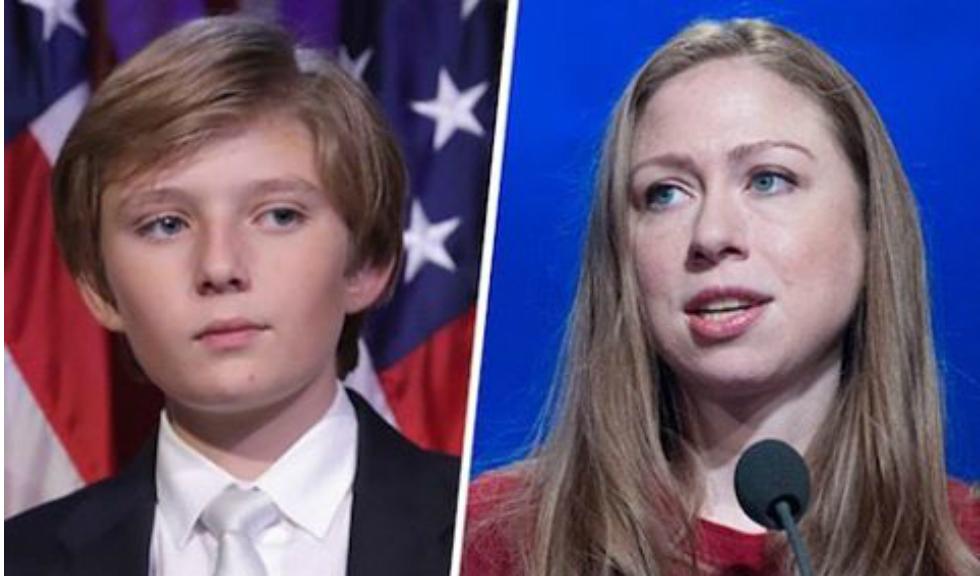 Chelsea Clinton, declaratii despre Barron Trump