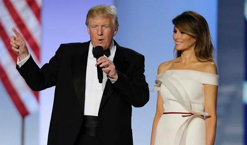 Ce a purtat Melania Trump la balul inaugural