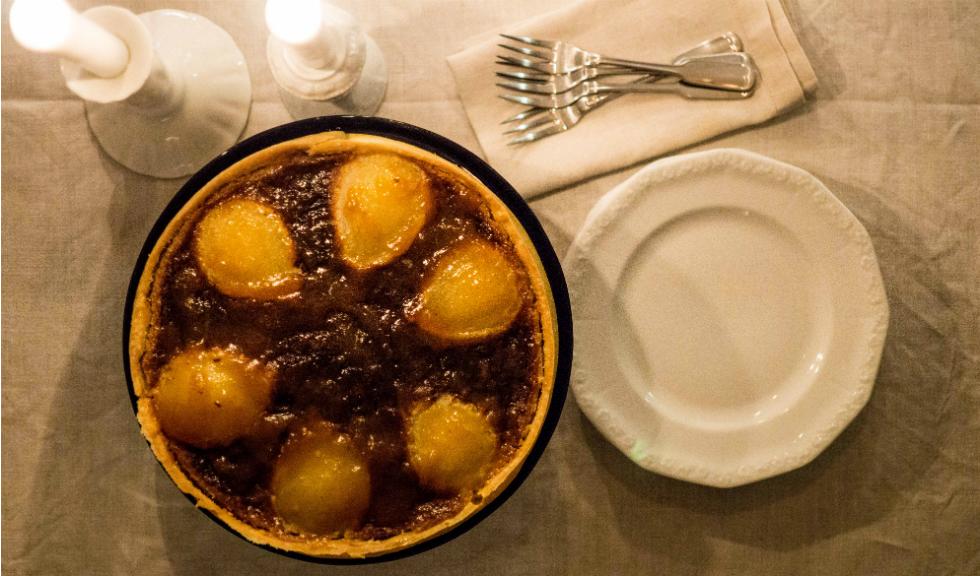 Tarta Bourdaloue cu pere, de Ioana Dumitrescu