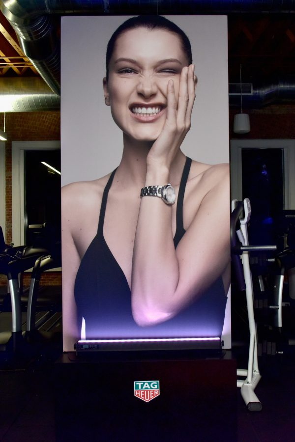 NEW YORK, NY - FEBRUARY 13: View of A Fresh New Face For TAG Heuer at Equinox Bond Street on February 13, 2017 in New York City. (Photo by Eugene Gologursky/Getty Images for TAG Heuer)