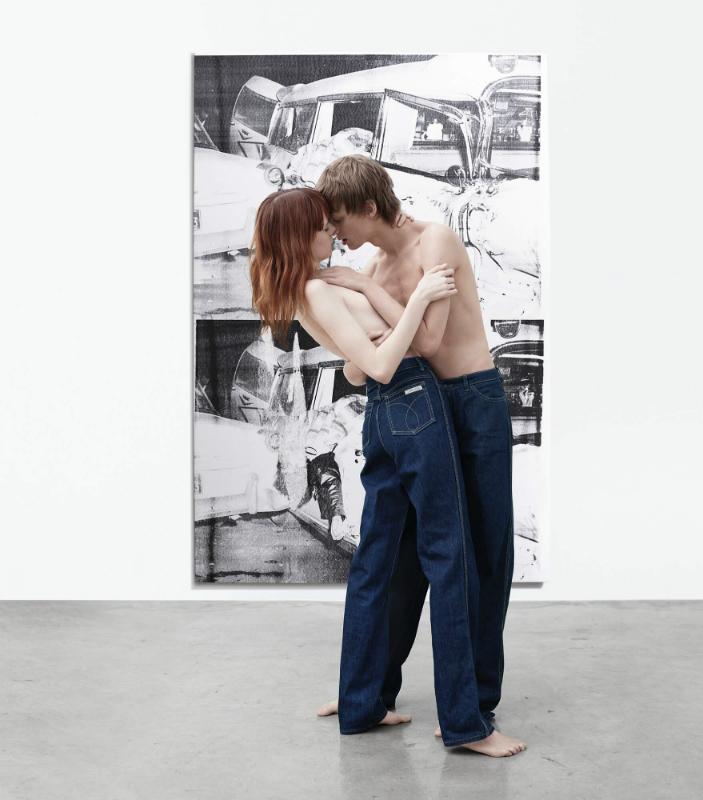 Andy Warhol si noua campanie a lui Raf Simons pentru Calvin Klein