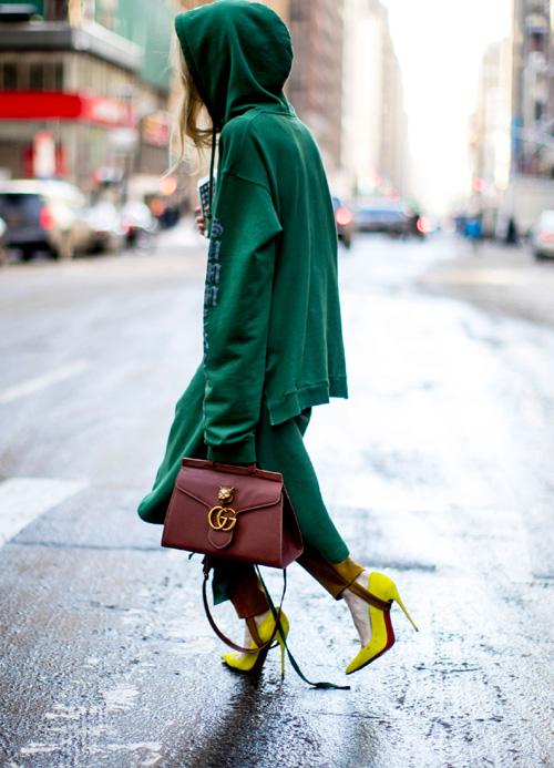 Best streetstyle looks @ Saptamana Modei de la New York