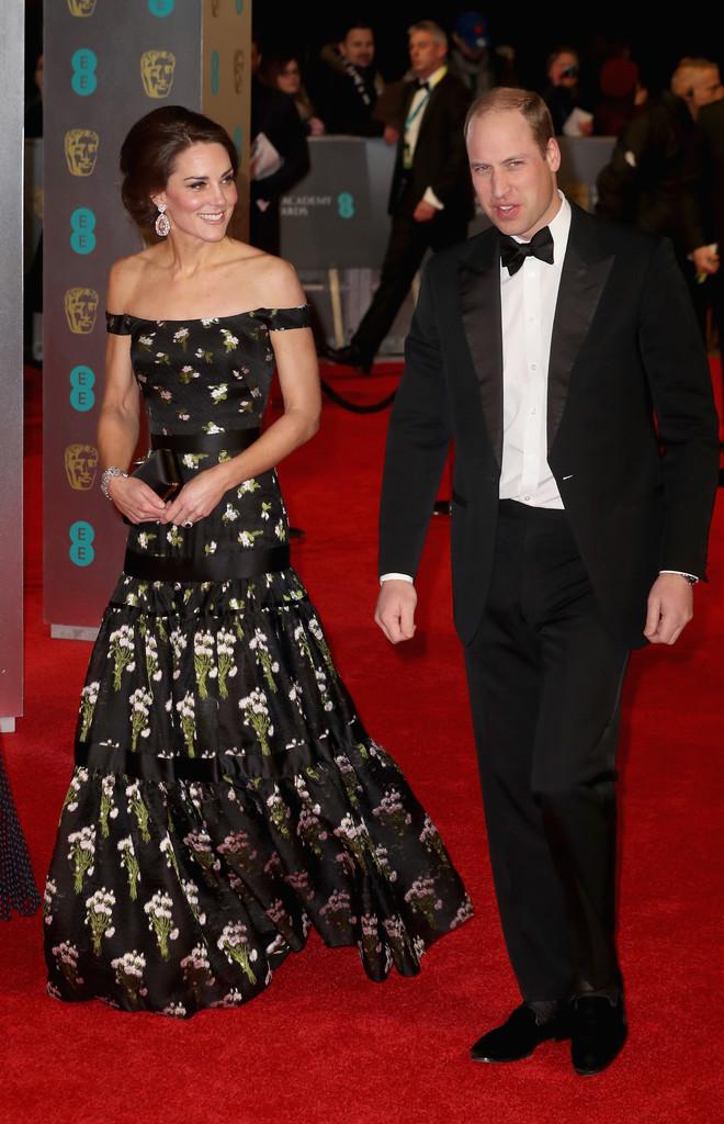 Vedete la decernarea premiilor BAFTA 2017 (Galerie Foto)