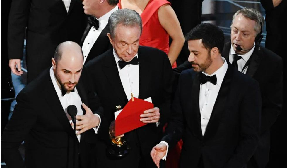Cum a fost posibil sa se incurce castigatorul pentru Cel mai bun film la Premiile Oscar
