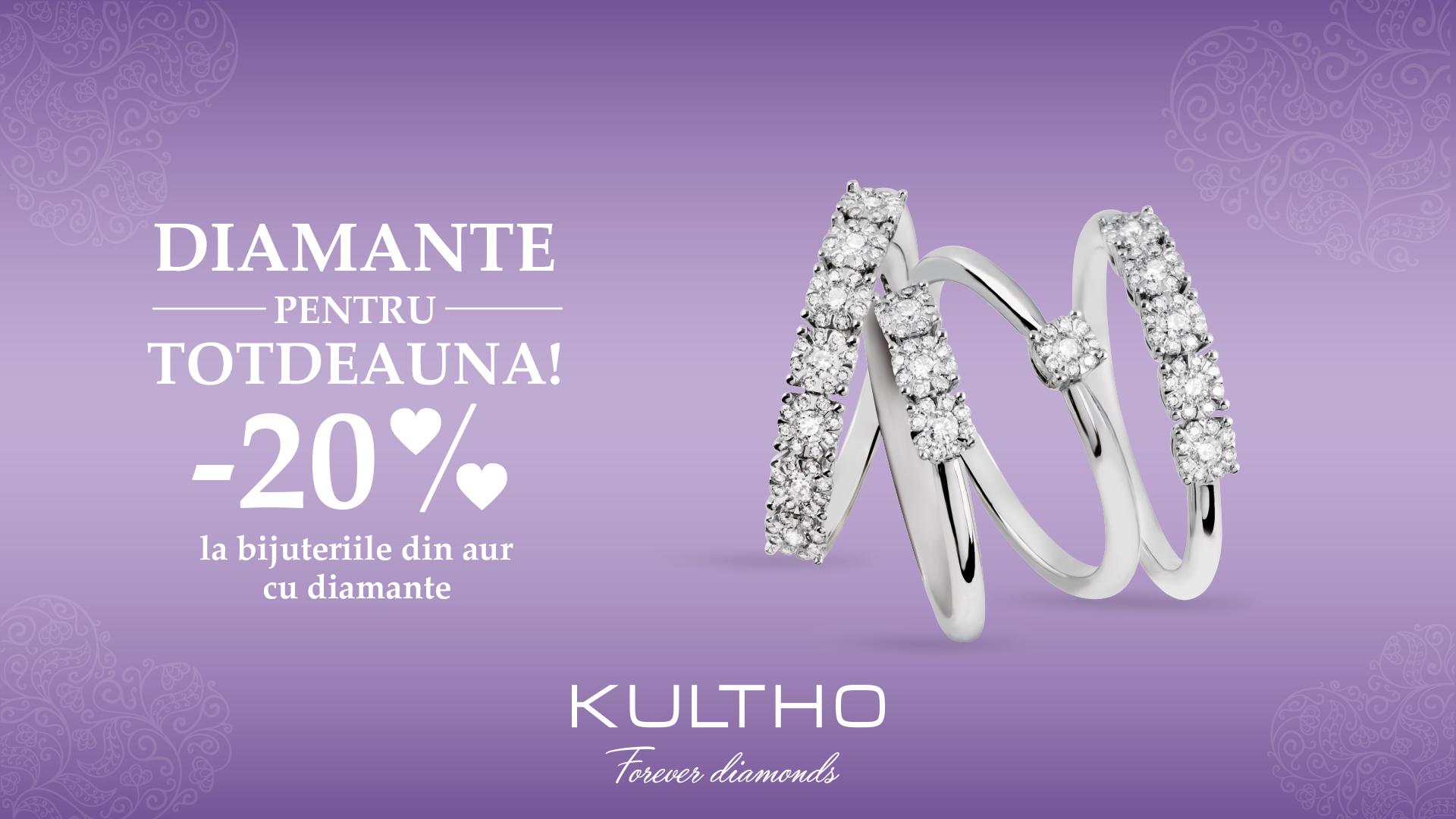banner campanie diamante Kultho 1920x1080px