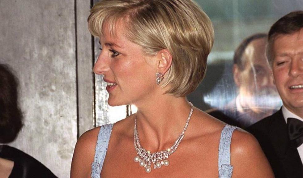 Colierul cu diamante al Printesei Diana, scos la licitatie