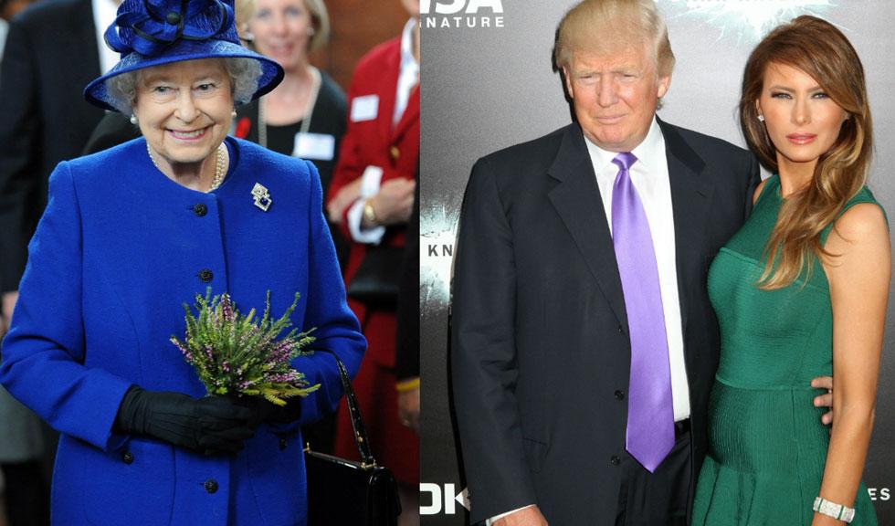 Donald si Melania Trump se vor intalni cu Regina Elisabeta a II-a