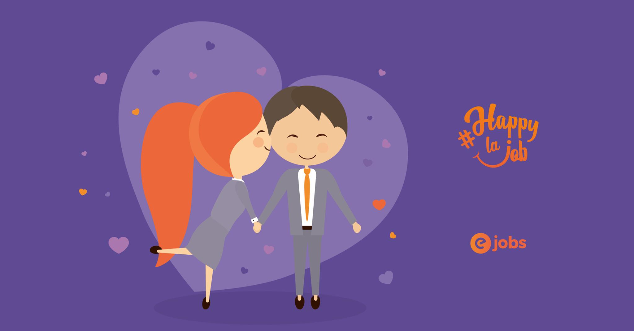 Studiu eJobs: 1 din 2 români a avut o relație la birou